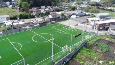 解放感あふれる屋外スペース。最新の人工芝グラウンドなのでサッカーだけでなく様々な用途でご利用頂けます。 - カルペソールスポーツパーク