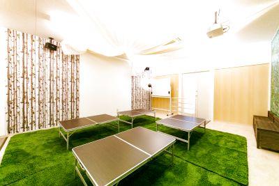 室内キャンプがモチーフの室内BBQスペース!コスプレ撮影会やDVD上映会、セミナーなど使い方は自由自在! - パーティーピーポー