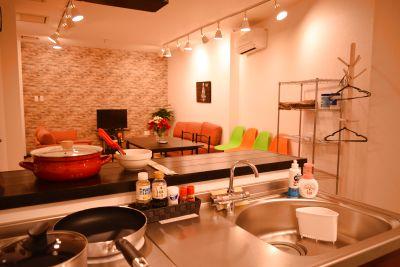 【平日限定プラン】キッチン付き個室☆ 各種イベント・ママ友 ・趣味・ロケ撮影・ヨガ教室・会議・セミナー・教室などのご利用にも♪ - YumeSpace