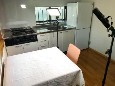 渋谷区/キッチン付き小型スペース