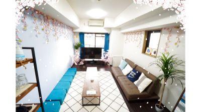 🌸インドア花見🌸<メルシースペース>リモートワーク・テレワークにも最適!東梅田駅徒歩6分/大型テレビ/Wi-Fi - 【メルシースペース】