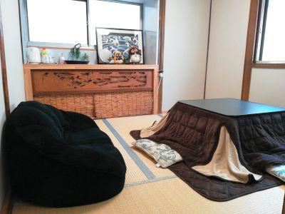 清潔感のある和室になります。カップルなどにおススメ! - レンタルスペース オアシス