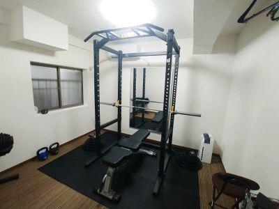 トレーニングに最適!完全個室のプライベートジム!関内駅徒歩4分!パワーラック、可変式ダンベル(41kg×2)! - Real d.k gym