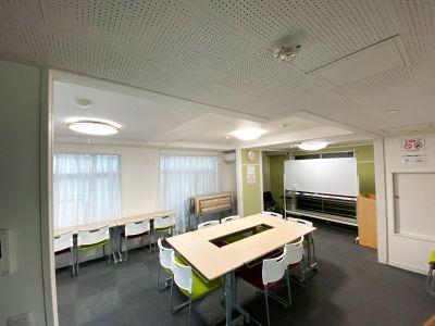 38㎡室内広々ゆったり会議室 wifi・プロジェクター - いちご会議室神田第3スペース