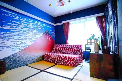 新宿 キッチン付き和風ルーム