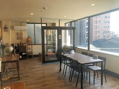 本川越駅徒歩3分。WIFI完備なのでWEB会議や撮影、各種教室、パーティやワークショップなど幅広い用途でご利用いただけます。 - WARM PLACE