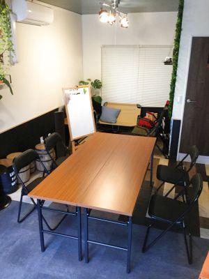 We Home テレワーク&レンタル会議室利用歓迎(各種飲み物、プロジェクター、ホワイトボード完備) - WeHome