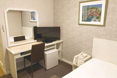 【JR新大阪駅から徒歩3分】◆個室確約◆ホテルの客室の1室だから安全安心♪wi-fi/有線LAN無料  - ニューオーサカホテル