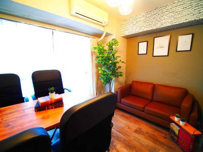OPEN記念30%オフ!会議やテレワークに最適な喫煙可の会議室。24時間利用可。WiFiやプロジェクターなどオプション無料 - 池袋会議室+N