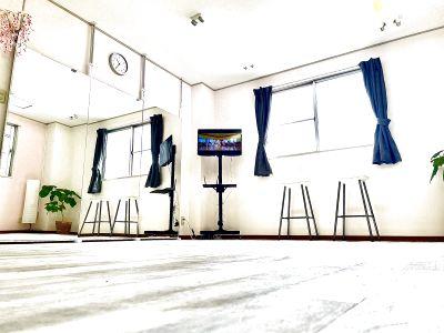 格安☆個室☆ダンスのできるスタジオ☆24時間利用可☆当日予約可☆ヨガやピラティスレッスンや習い事にどうぞ☆ - レンタルスタジオ RILL