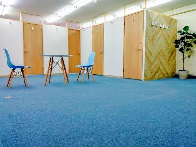 【レンタルオフィス コルメ柏5階「C」ルーム】4h以上¥220/h,8h以上¥200/h - レンタルオフィス コルメ柏