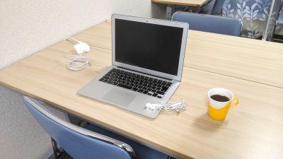 【直前割で最大50%OFF】テレワーク利用増加中!電源・WiFi・フリードリンクあり◎広めの完全個室を独り占めできます♪ - 勉強カフェ博多プレース 会議室