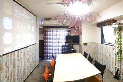 CAFE SPACE新宿・角部屋