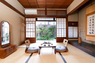 お庭のある昭和初期のおうちで、撮影をしませんか。個室一部屋+共有のリビングをご利用いただけます。 - 日暮荘