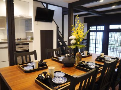 京都高瀬川の町家