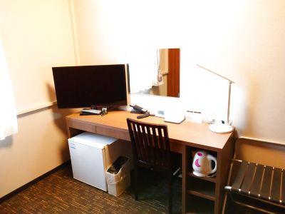 【ホテルをオフィスや自習室に】テレワークやリモートワーク・WEB会議、勉強部屋向け|フリードリンク|Wi-Fi無料 - ホテルウィング相模原