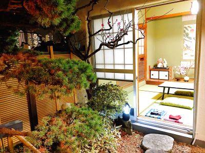 新大久保徒歩8分★日本庭園の部屋