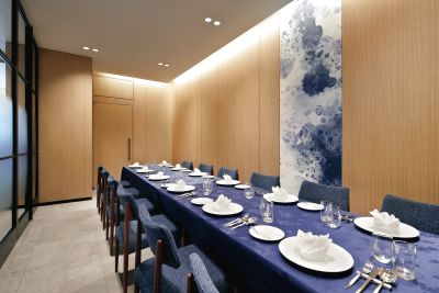 ・マリオット・個室・会議・ホテル・レストラン・スクリーン・プロジェクター - Alice's Table