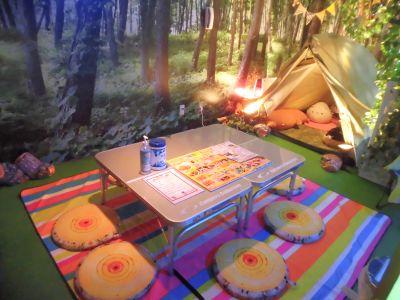 テントとワタシ