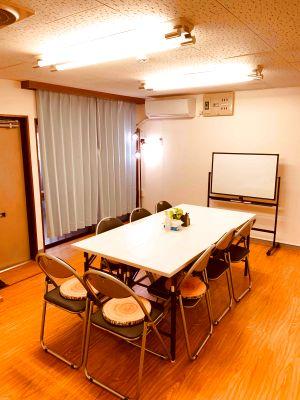 【ゼロ会議室】リモートワーク、テレワークにも最適!駅から徒歩2分!WiFi、ホワイトボード完備 - ゼロ会議室