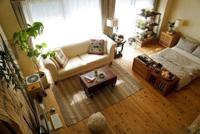 【京都】錆びた木の床とナチュラルテイストの大人の隠れ家的空間 - 木のスタジヲ「Life」