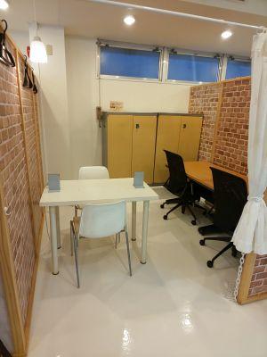 面接、勉強会、打合せ等に最適な半オープンスペースです - 所沢ノード シェアスペース