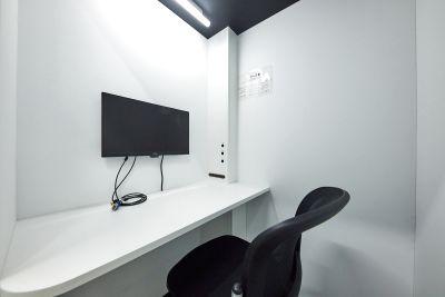 JR品川駅徒歩4分!テレワークに最適な1人用個室Cです! - テレワークブース品川Ⅰ