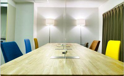 🌸カラフル座席の小さなオフィス in 青梅🌸テレワーク/リモート授業/レッスン/会議/趣味の集まりに最適 - 青梅コワーキングスペース