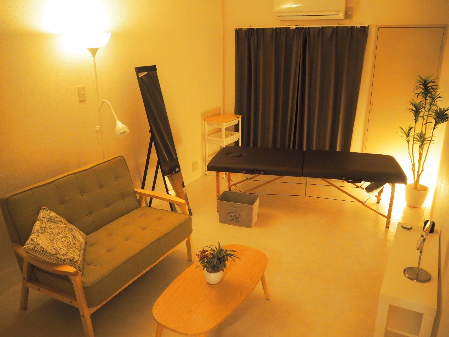 ◆エブリ北堀江◆大阪・堀江のレンタルサロン・エステスペース❗️ レンタルサロンの室内の写真 (1/17)
