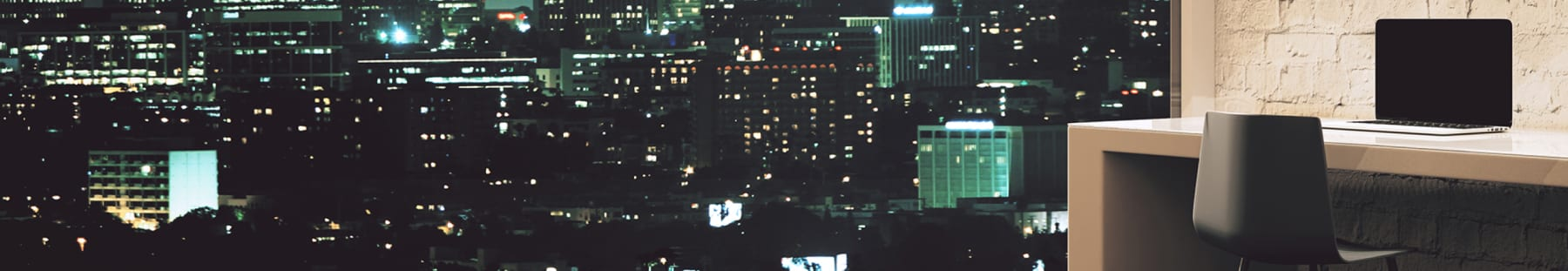 面影橋駅の夜景が綺麗なレンタルスペース