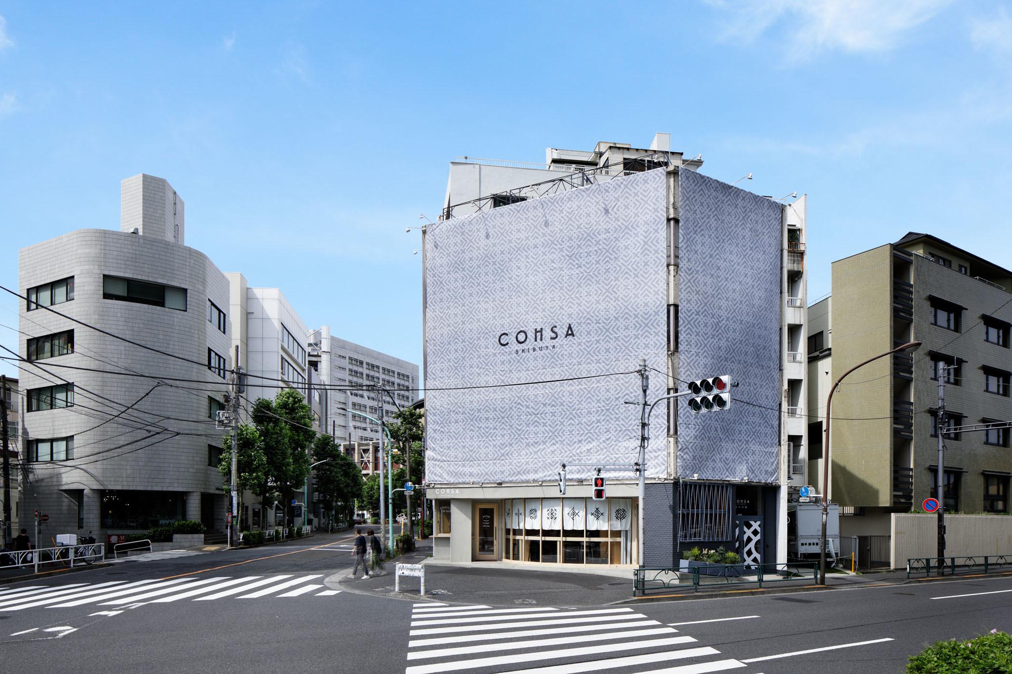 COHSA SHIBUYA 「可変」がコンセプトのフロアですの外観の写真