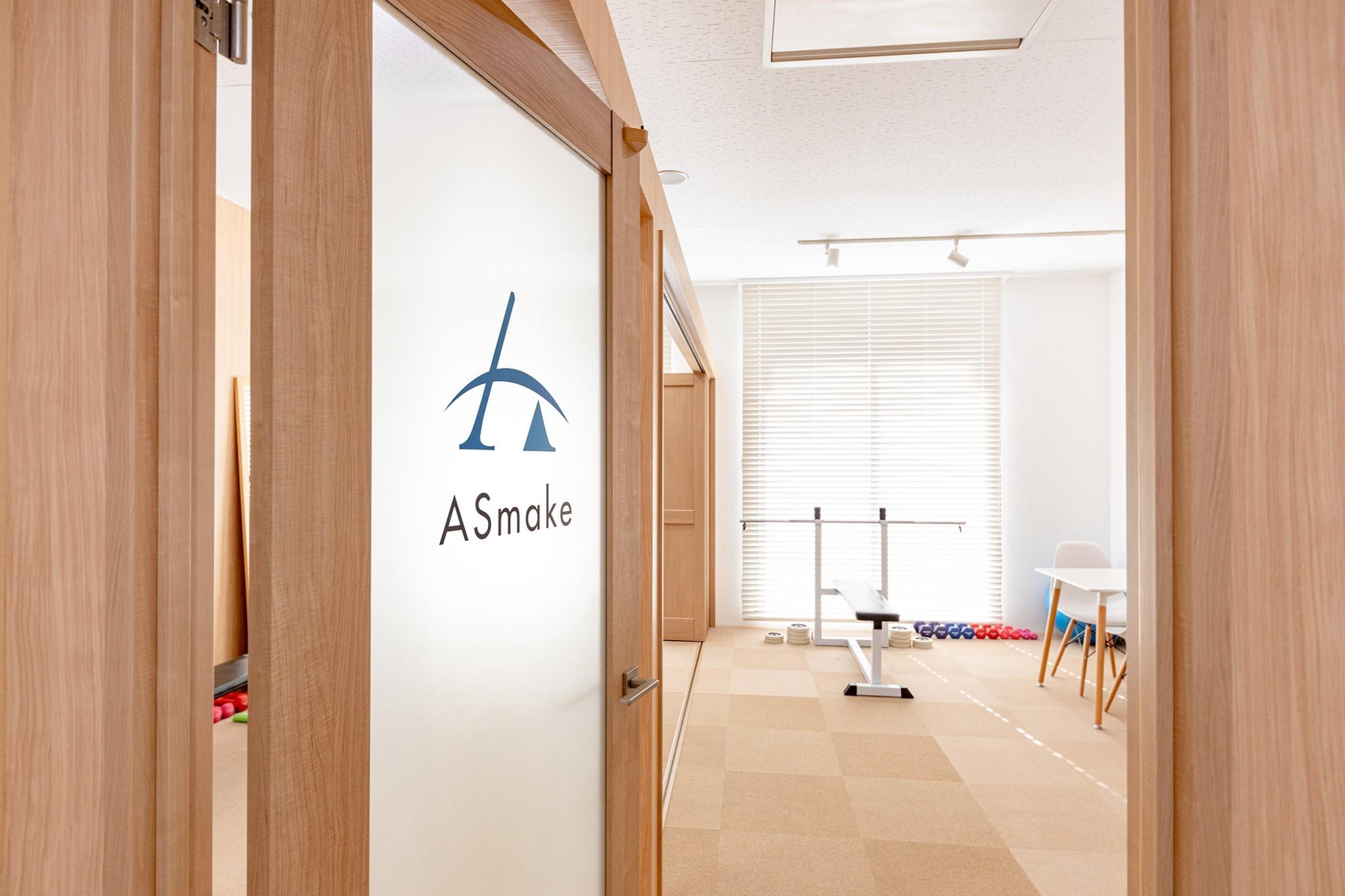 ご入館 - ボディメイクスタジオASmake レンタルスペース(ジム等)の室内の写真
