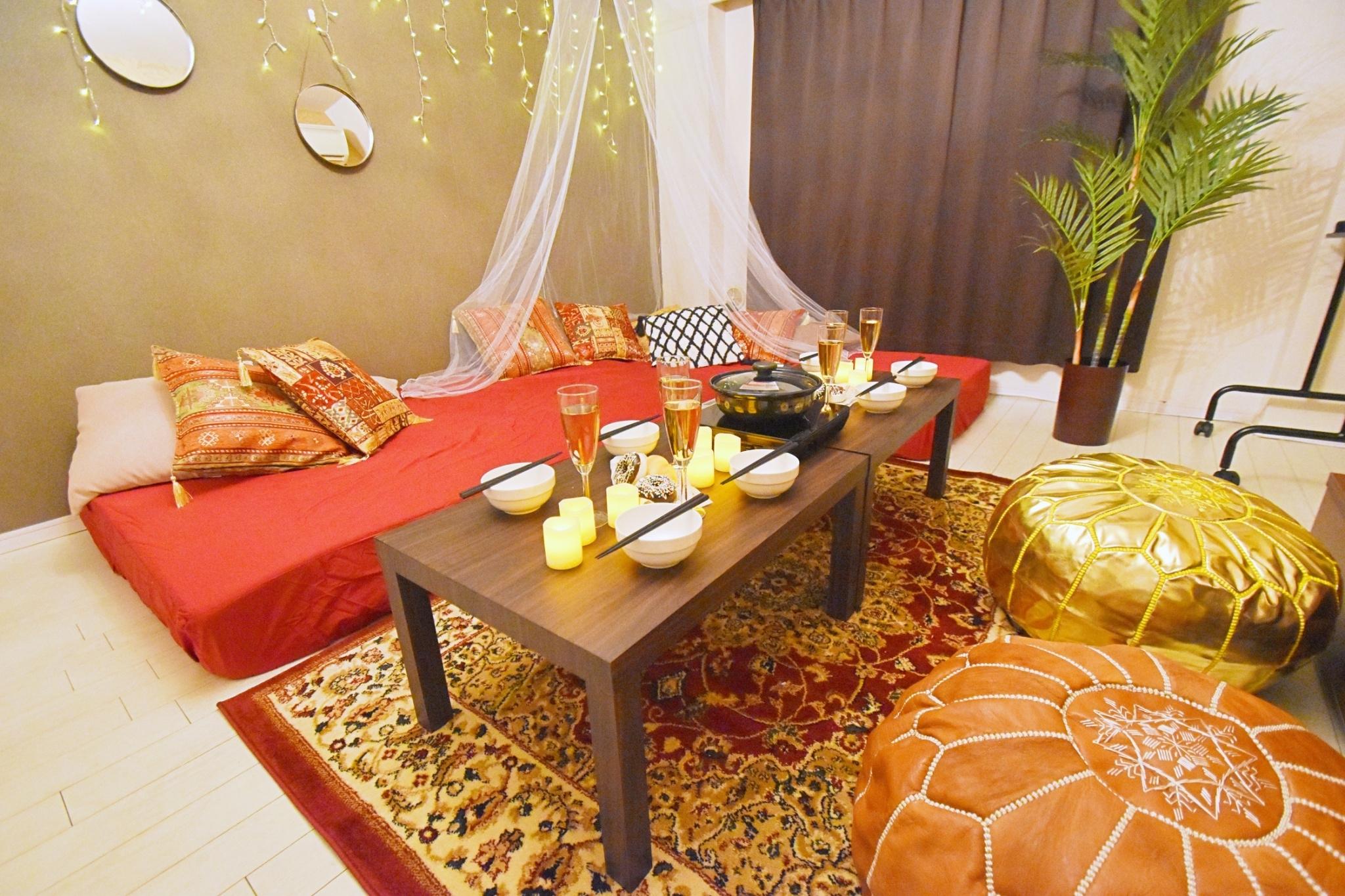 SP132Morocco渋谷 シェアスペMorocco渋谷の室内の写真