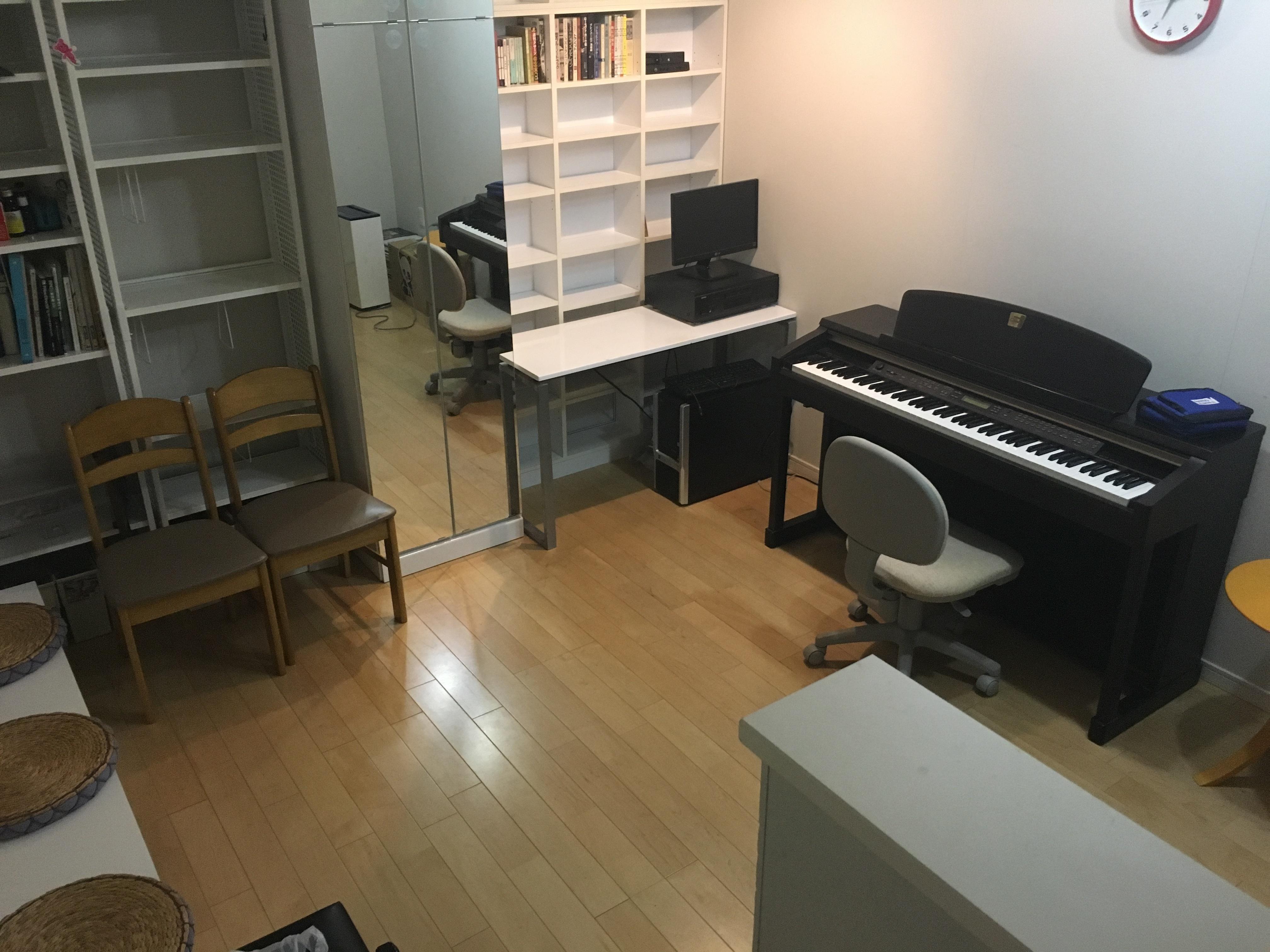 グランジュテ千駄木 防音室の室内の写真