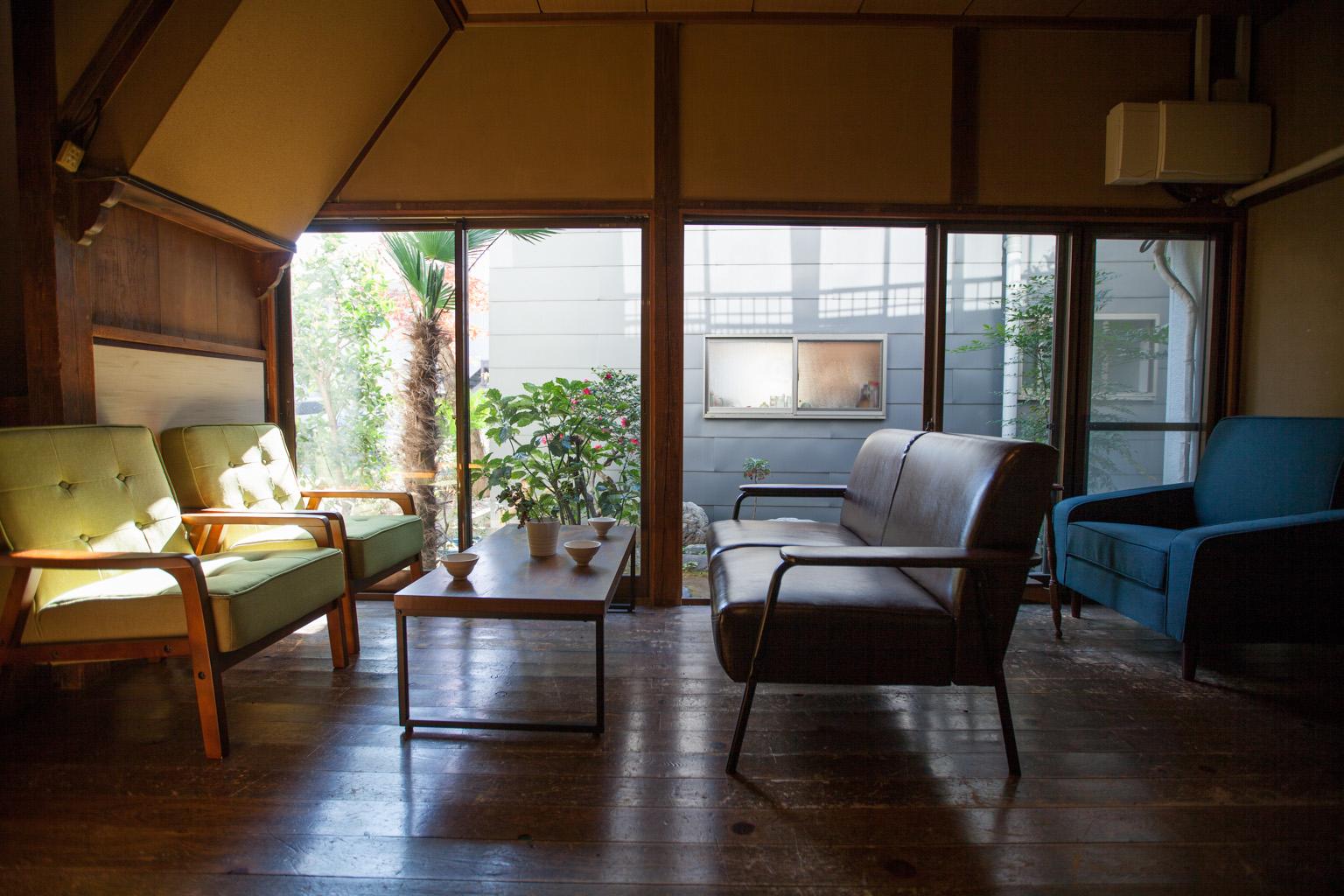 東京・町屋「アイビーカフェ町屋」 一軒まるごと利用/140㎡の室内の写真