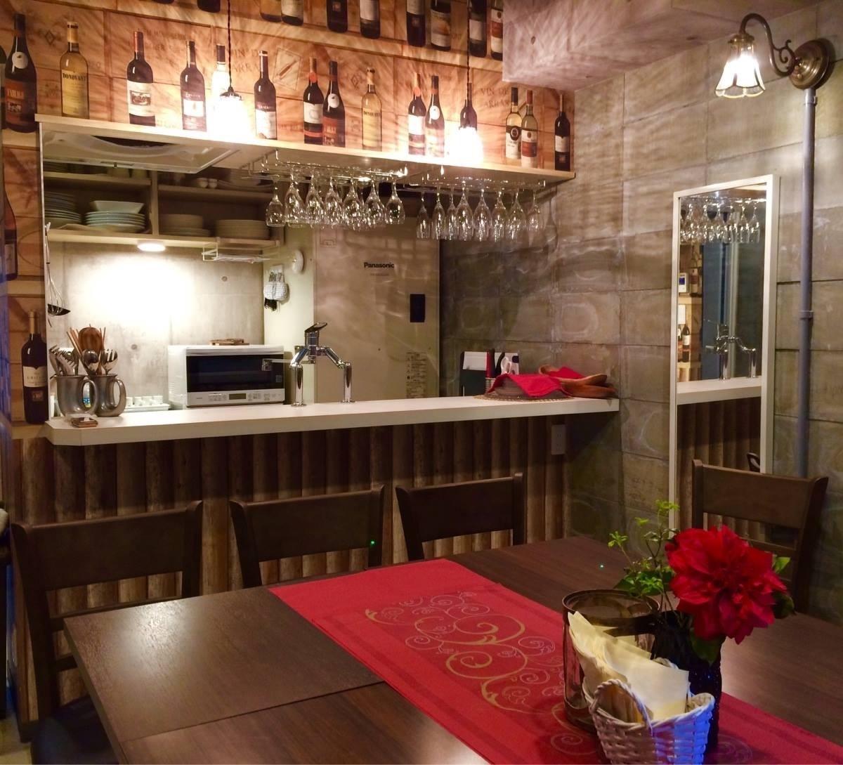 ビストロ LOVERSION レンタルキッチンの室内の写真
