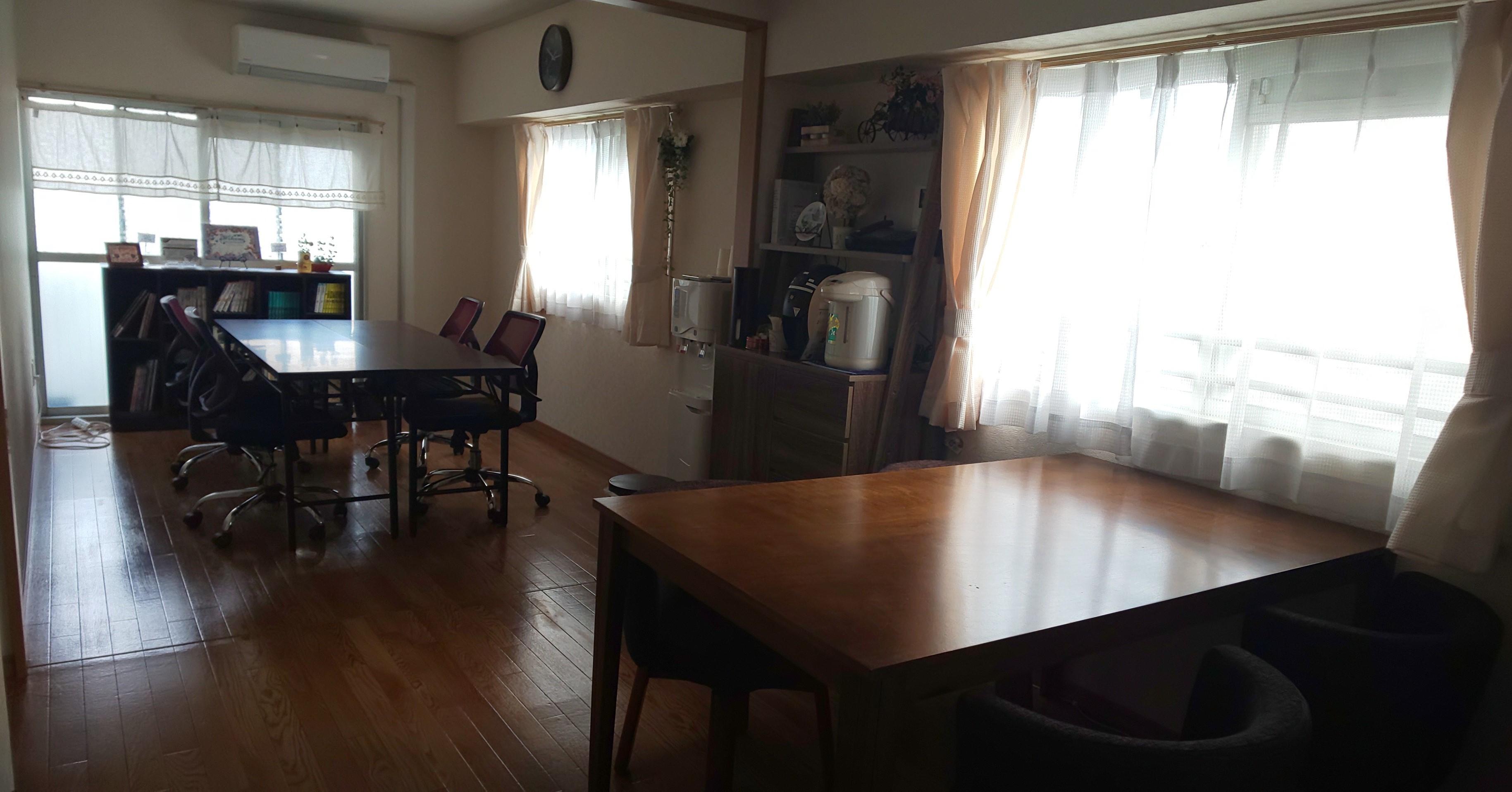 成増駅前レンタルスペース ランファン キッチン付きスペースの室内の写真