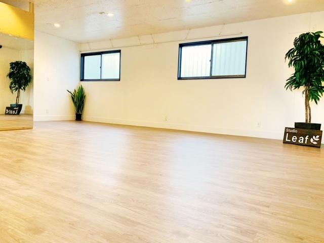 Studio Leaf レンタルスペースの室内の写真