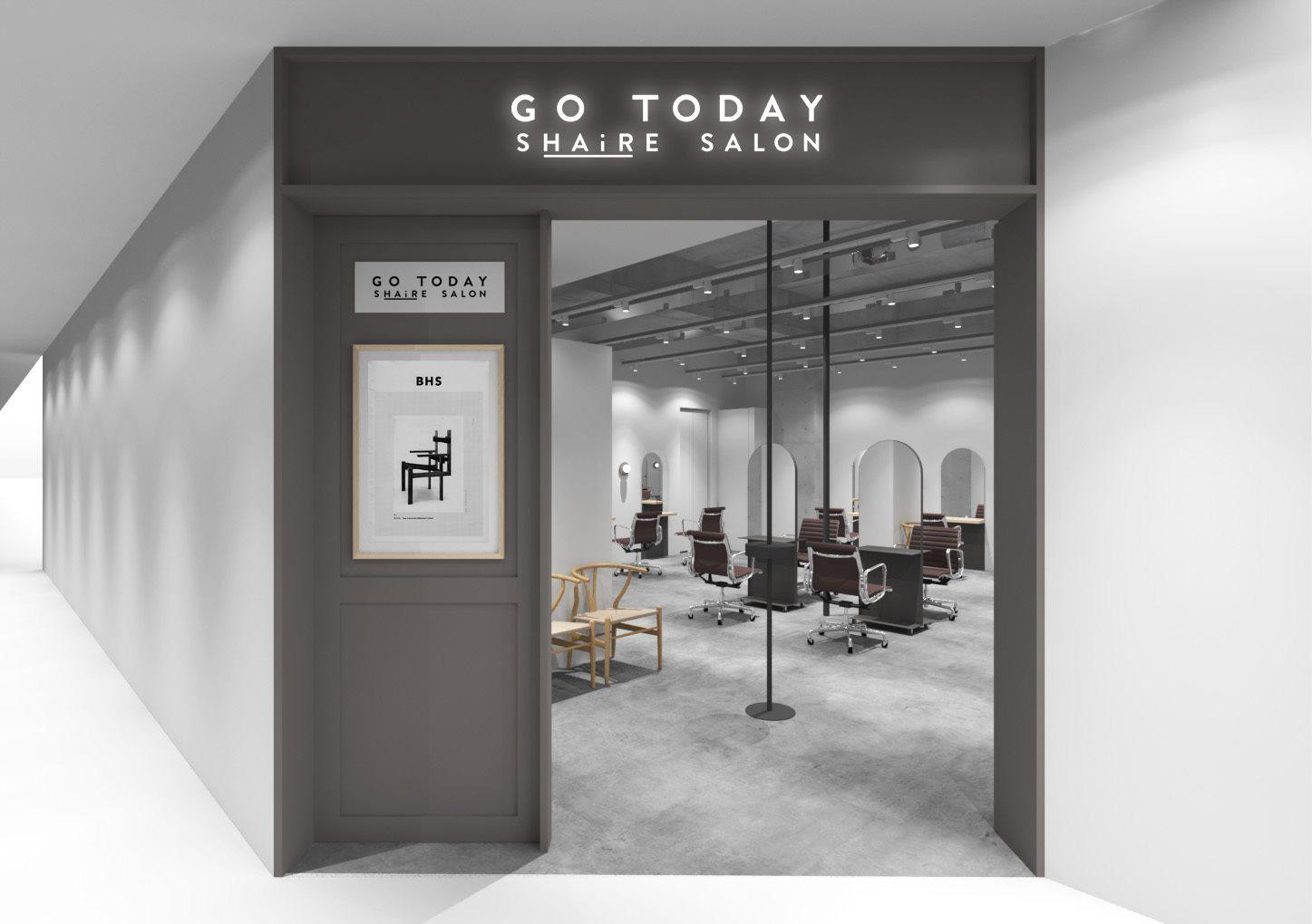 GOTODAYシェアサロン表参道 PopUp(レンタル)スペースの室内の写真