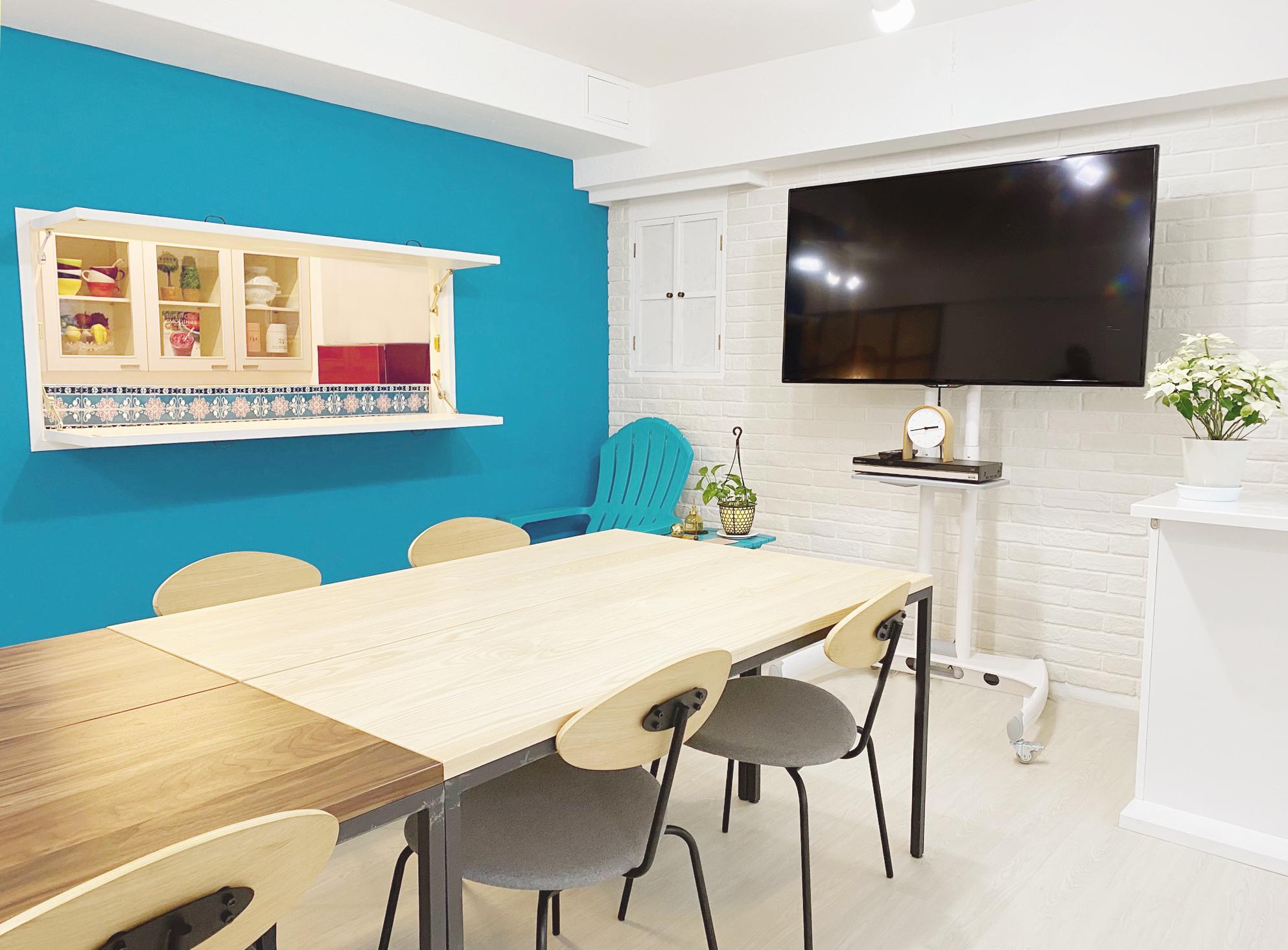 キッチンの使える多目的スペースです。 - 表参道キッチンアンドカルチャーの室内の写真