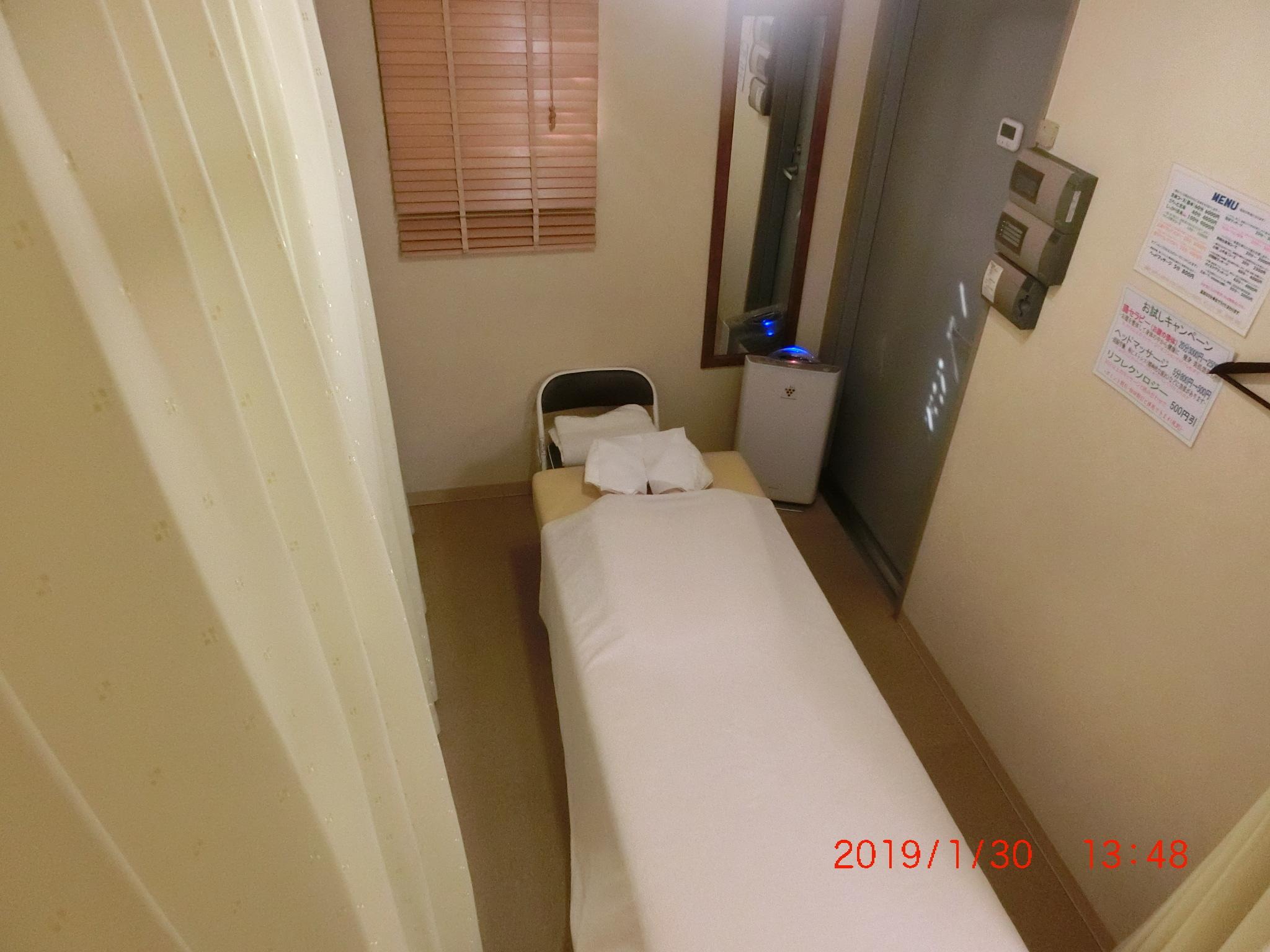 からだケアFine! 治療室の室内の写真