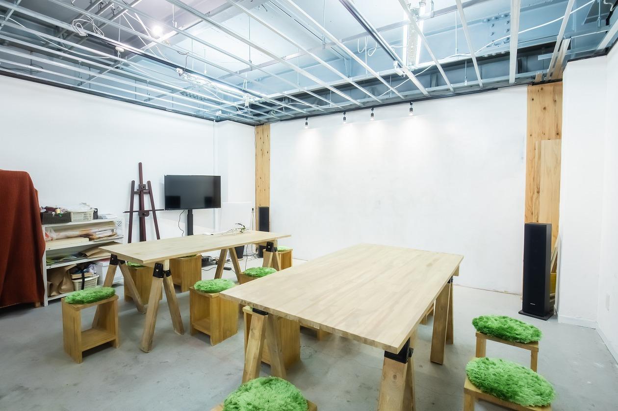 PLANT.LAB レンタルスペース*貸切*会議室の室内の写真