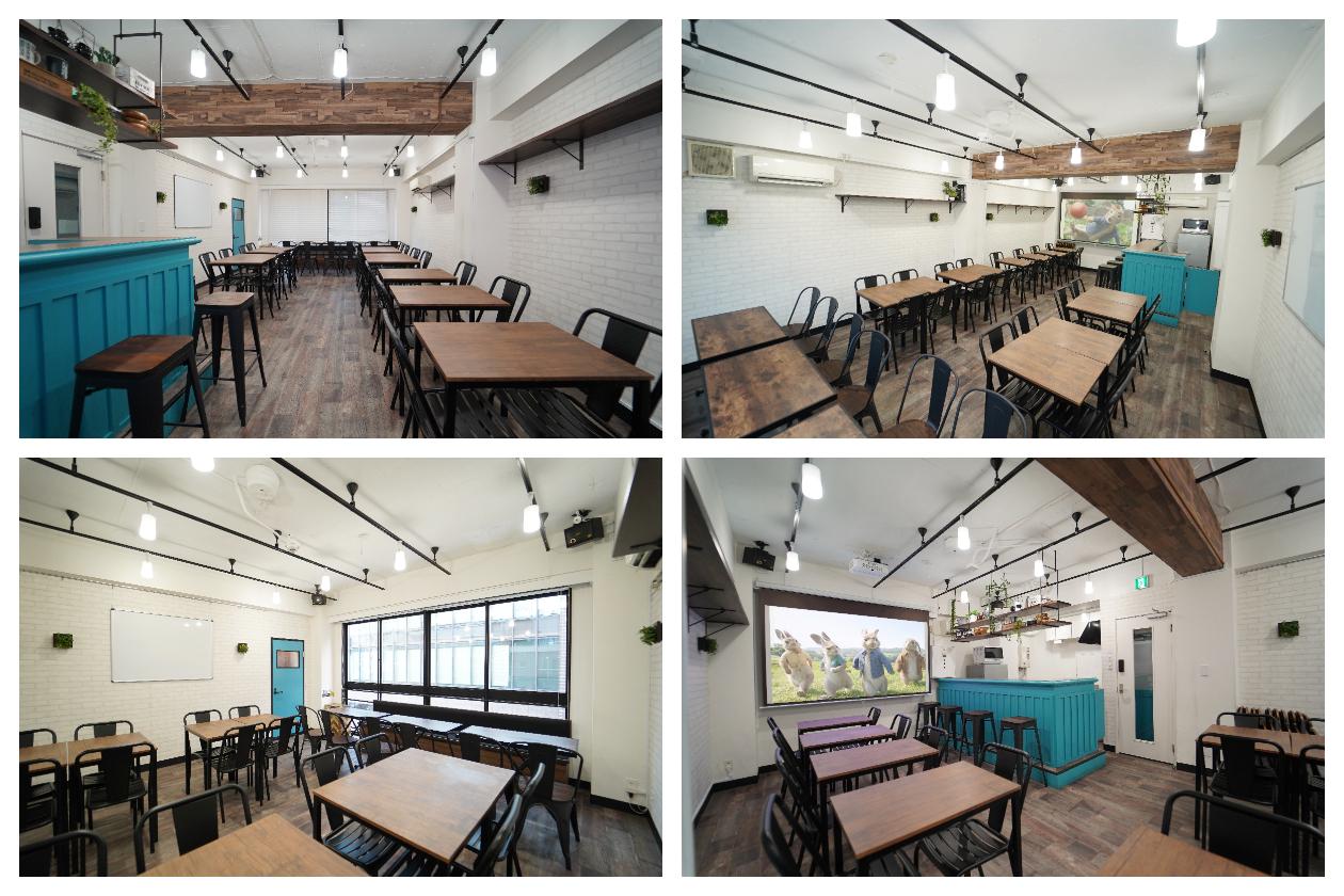 【casuarise 南池袋】 カフェ風スペースの室内の写真