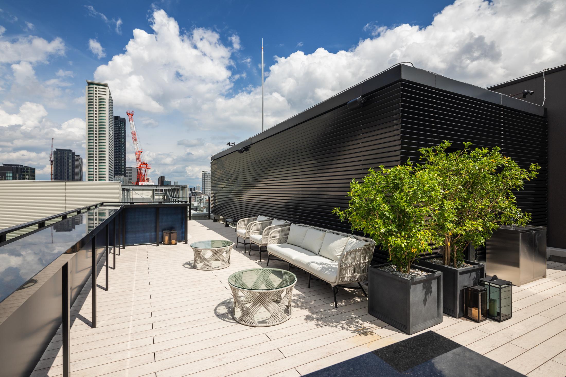 ザライブリー大阪本町 Roof Top(屋上)の室内の写真