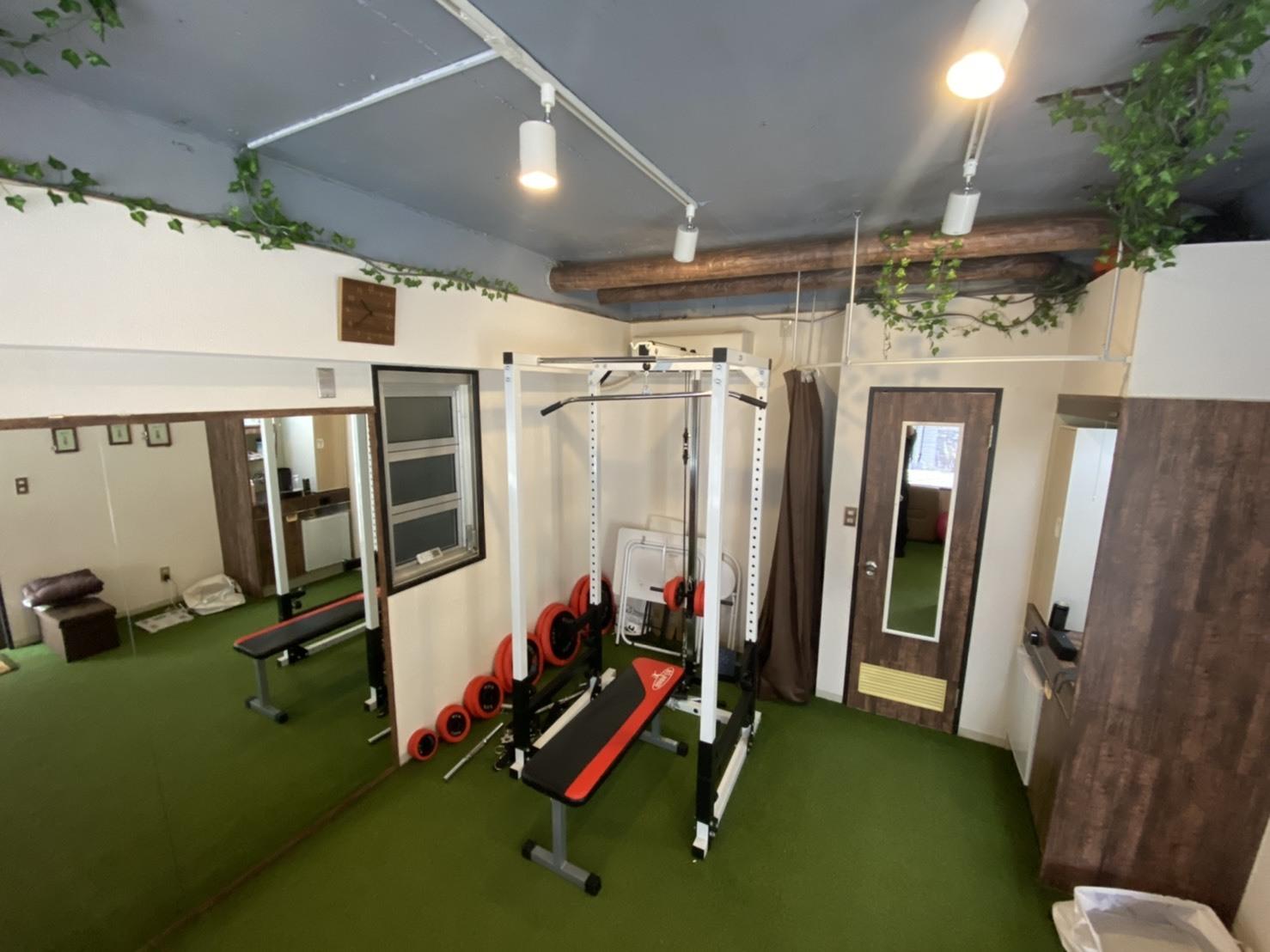 LiMEレンタルジム 市ヶ谷 レンタルジムの室内の写真