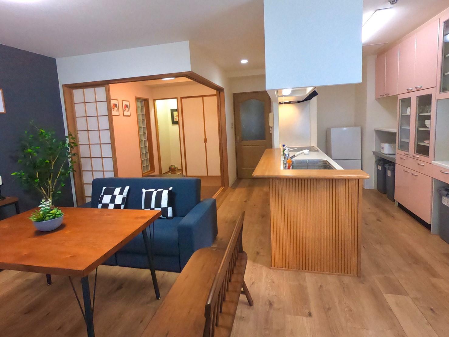 キッチンも備え付けられていますのでポップアップストアも可能です - レスト52 101 1Fサロンスペースの室内の写真