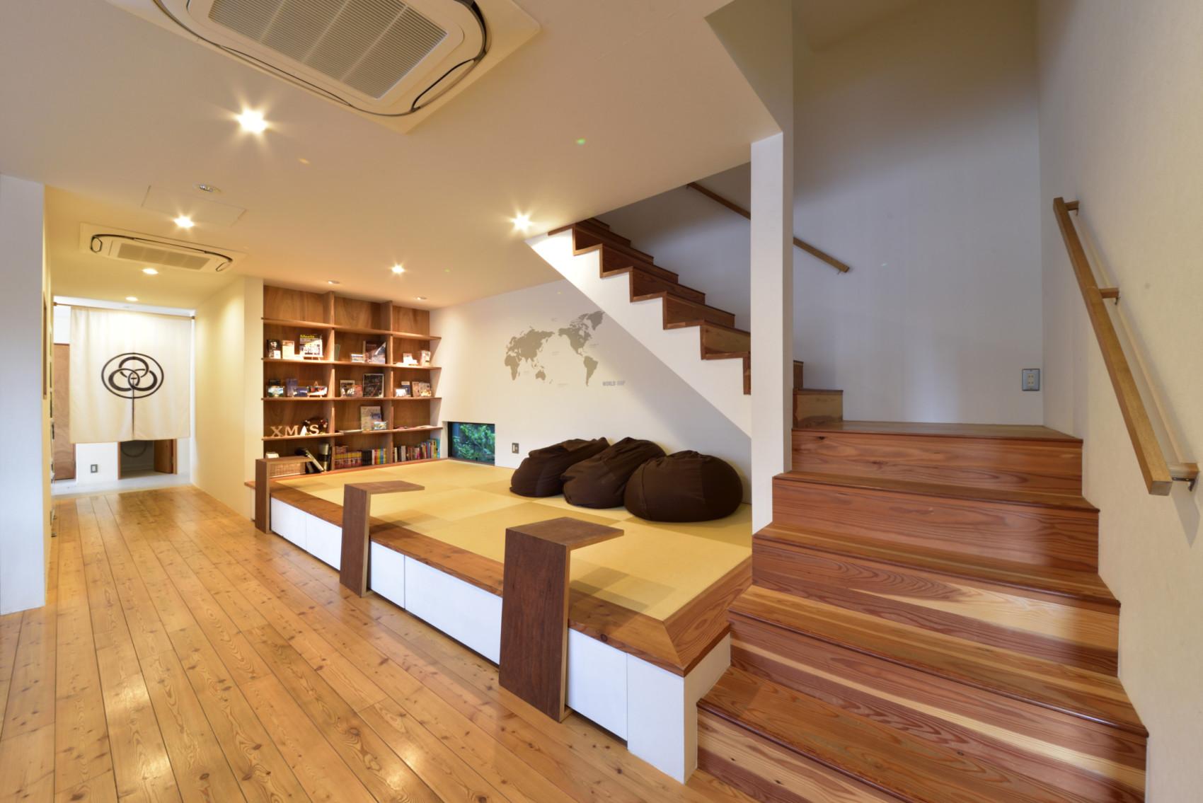 館内1階にございます畳スペースです - みつわ屋 共用スペースの室内の写真