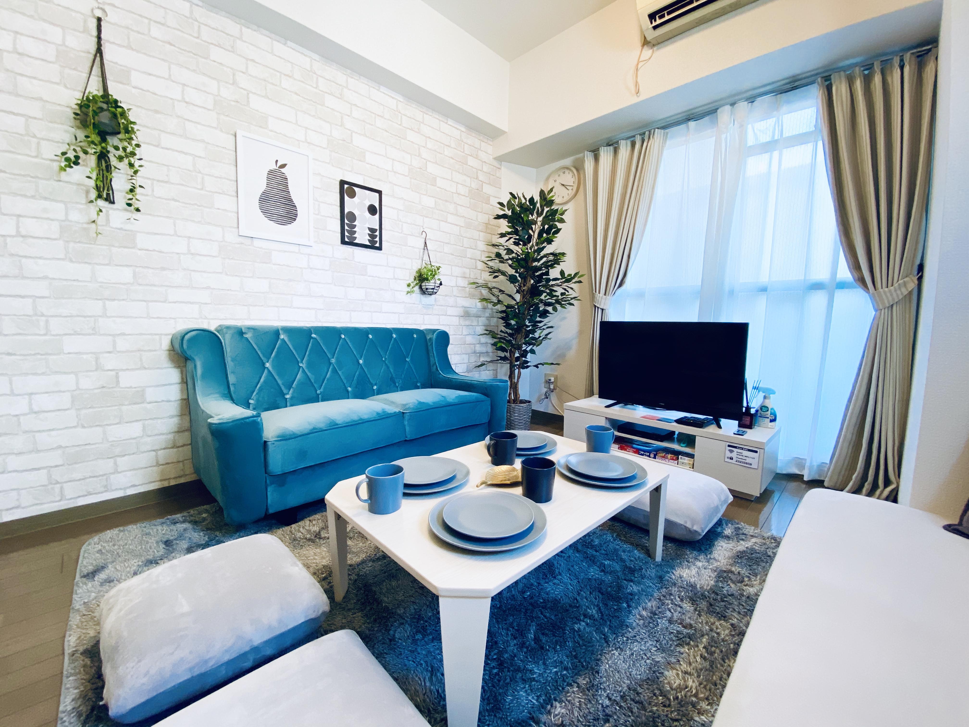 都心を感じさせない静かなスペースです🏢 - 〈SMILE+〉ViVi梅田 レンタルスペース、パーティルームの室内の写真