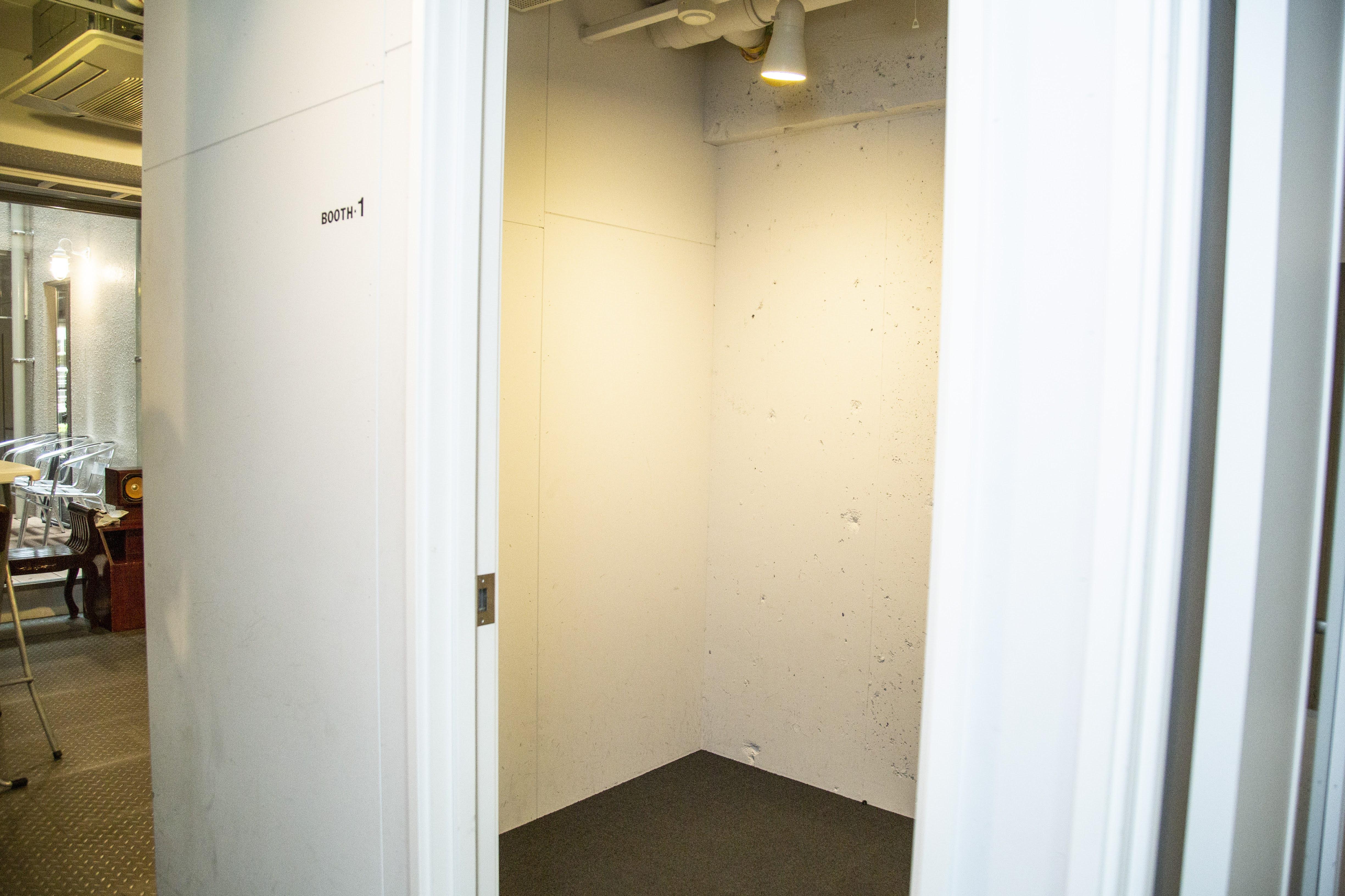 スタジオアパートメントKICHI Booth1の室内の写真