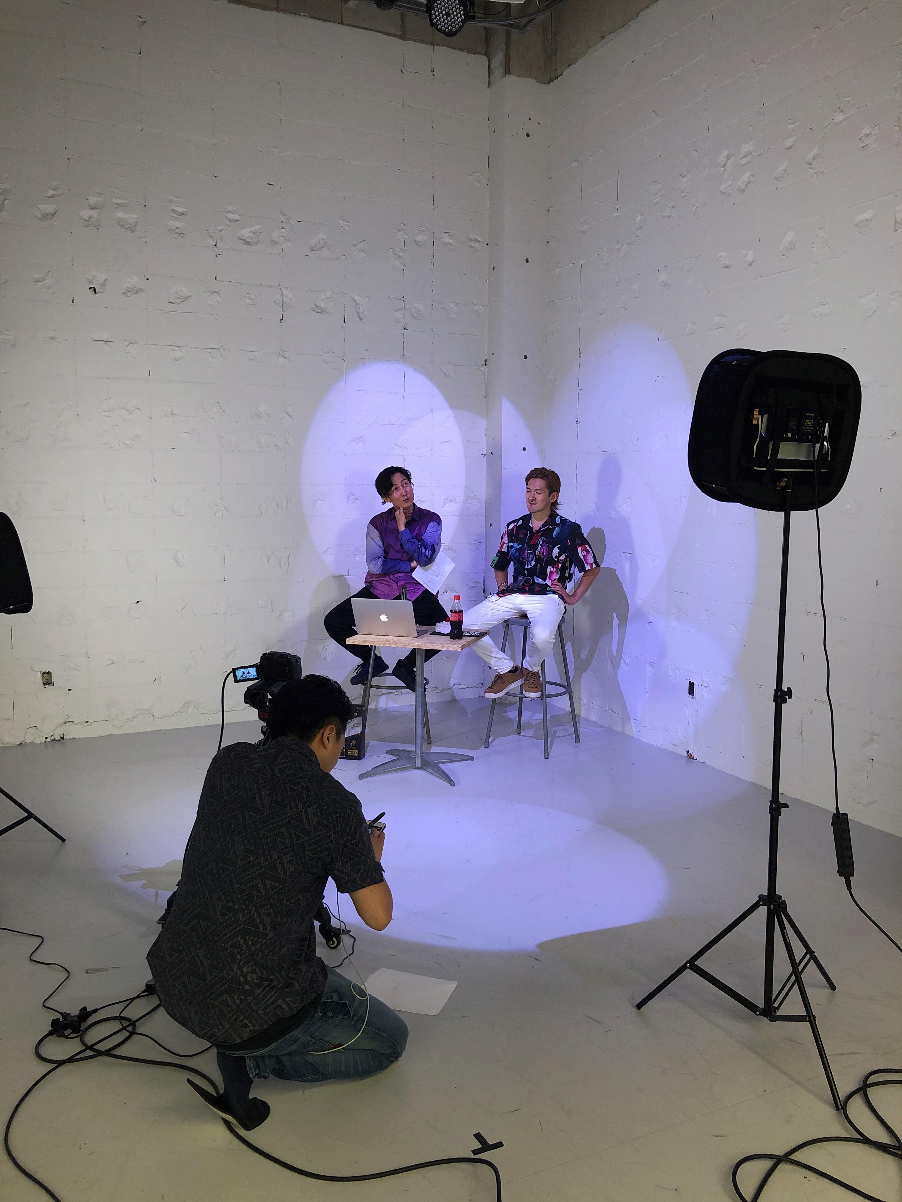 撮影や、有線LAN完備なのでライブ配信なども可能! - StreetDancePark C studioの室内の写真